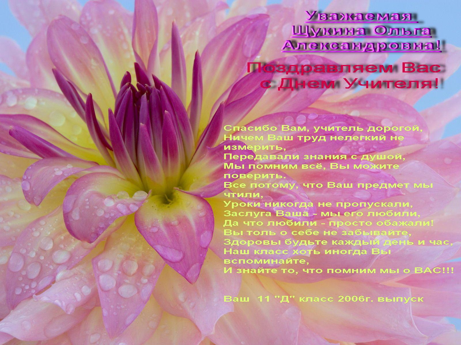 Поздравление учительнице на татарском фото 497